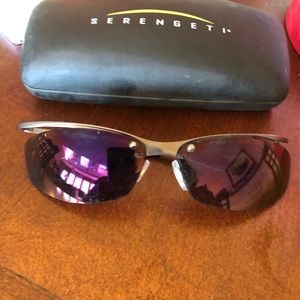 Serengeti  sunglasses.  Like new.